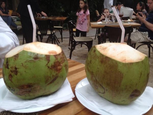 Agua de Coco...qué apetecible!