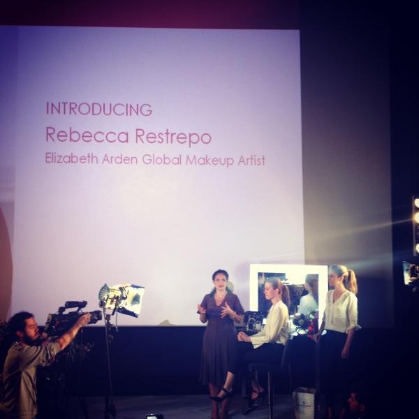 Rebecca Restreppo maquillaje